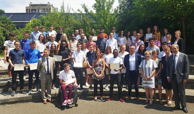 Prix de l'Education, collège Berthelot de Toulouse, 6 juillet 2018