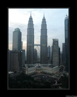 Les Tours Petronas- Kuala Lumpur- Malaisie- Malaysia