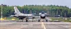 Lockheed Martin F-16C Jastrz?b (4049) and (4058)