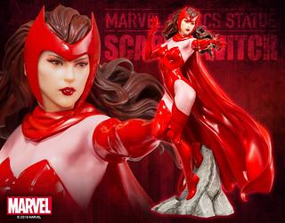 壽屋 ARTFX+ 系列 Marvel Comics【緋紅女巫】スカーレット・ウィッチ Scarlet Witch