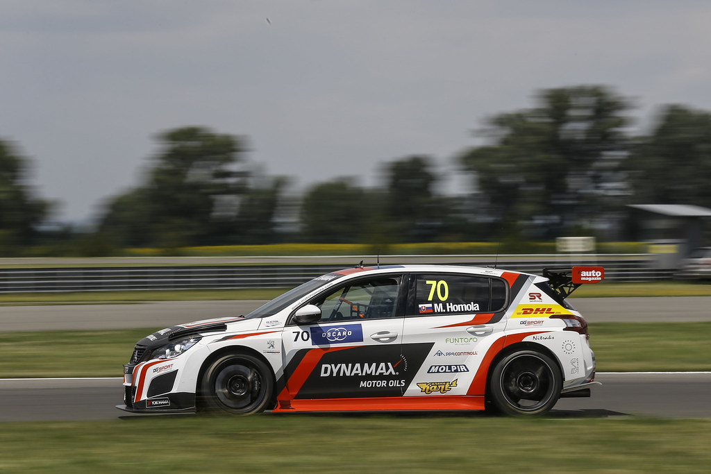 70 HOMOLA Mato, (svk), Peugeot 308 TCR team DG Sport Competition, action during the 2018 FIA WTCR World Touring Car cup race of Slovakia at Slovakia Ring, from july 13 to 15 - Photo Jean Michel Le Meur / DPPI