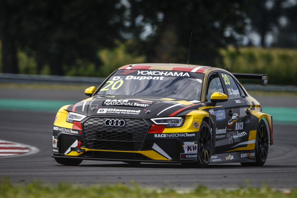 20 DUPONT Denis, (bel), Audi RS3 LMS TCR team Comtoyou Racing, action during the 2018 FIA WTCR World Touring Car cup race of Slovakia at Slovakia Ring, from july 13 to 15 - Photo François Flamand / DPPI.