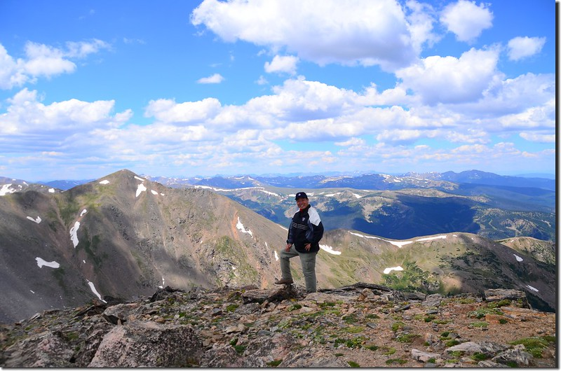 Taken from the summit of James Peak (25)