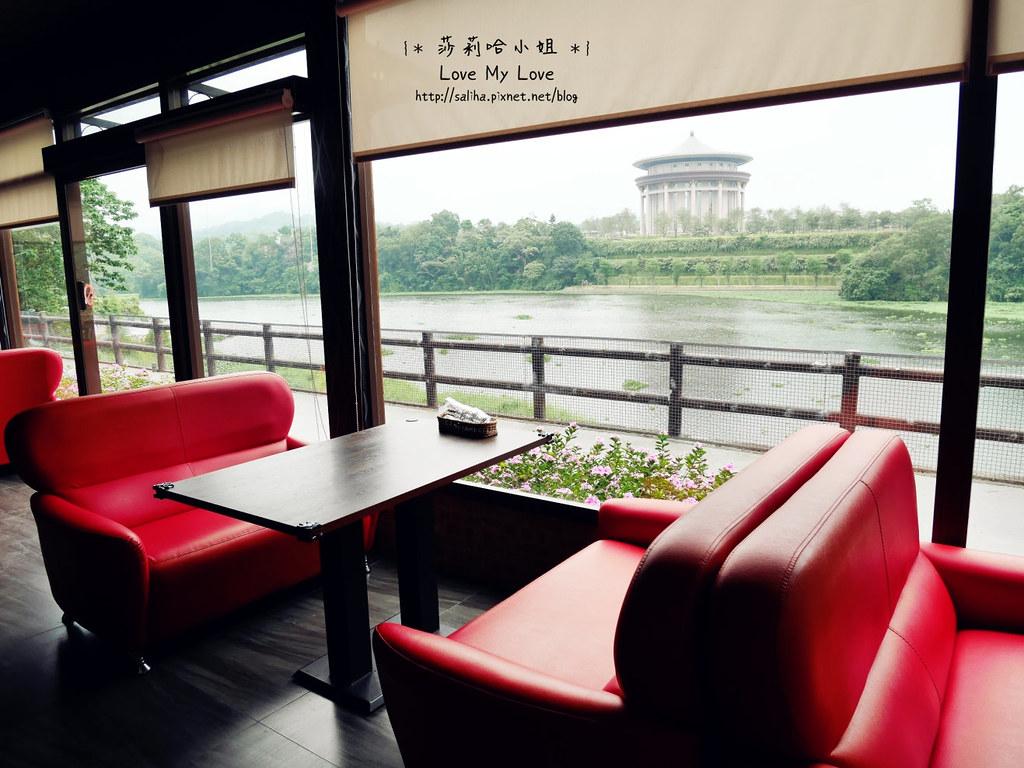 峨眉湖附近景觀餐廳推薦雪之湖咖啡下午茶義大利麵 (5)
