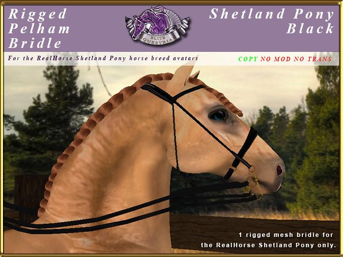 e-rh-Shetland-PelhamBridle-Black - TeleportHub.com Live!