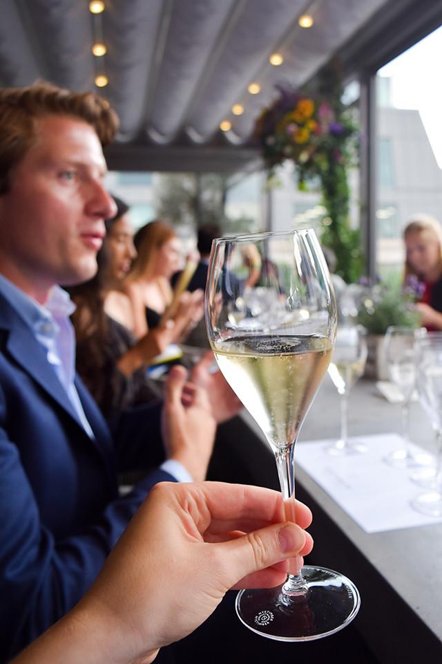 Nyetimber Tasting at Angler, Moorgate #nyetimber #englishsparklingwine #london #wineterrace #bar