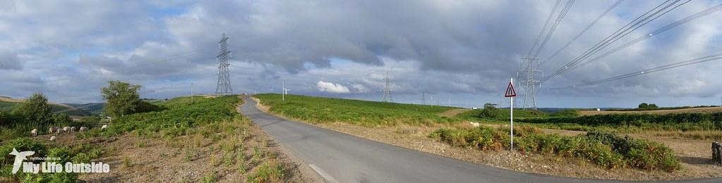 P1170599 - Route of the Mynydd y Gwair wind farm access track