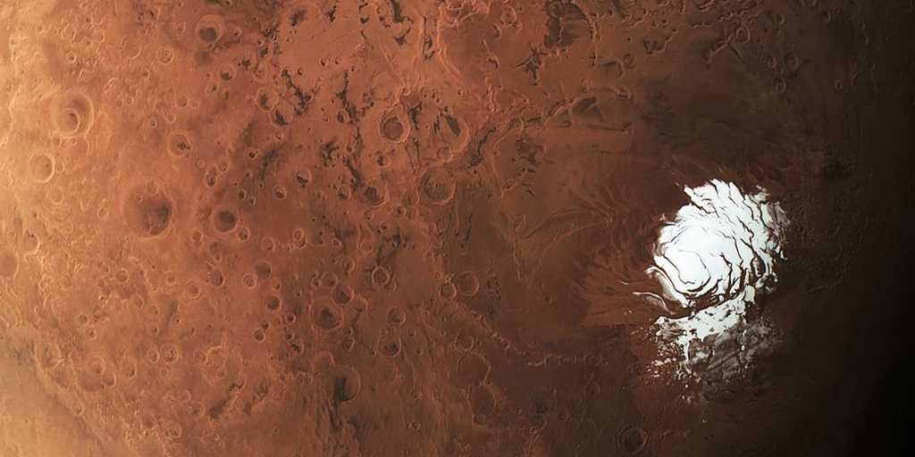 Découverte d'un lac d'eau liquide sur Mars