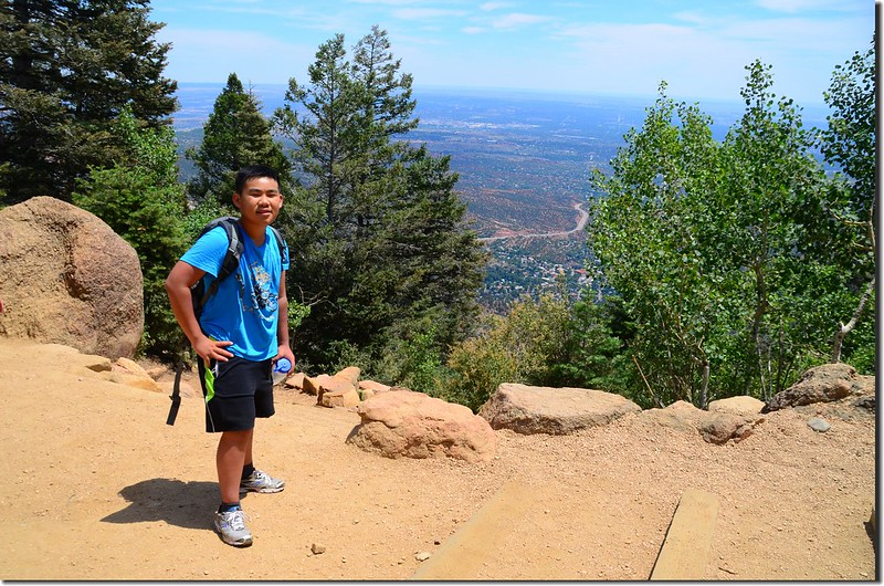 On the top of the incline (1)