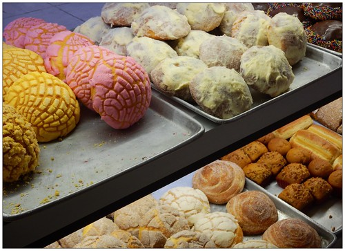 Pastries at La Vasconia, a traditional Mexican bakery in Mexico City