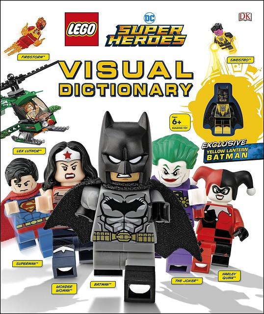 LEGO DC Super Heroes Visual Dictionary Yellow Lantern Batman book