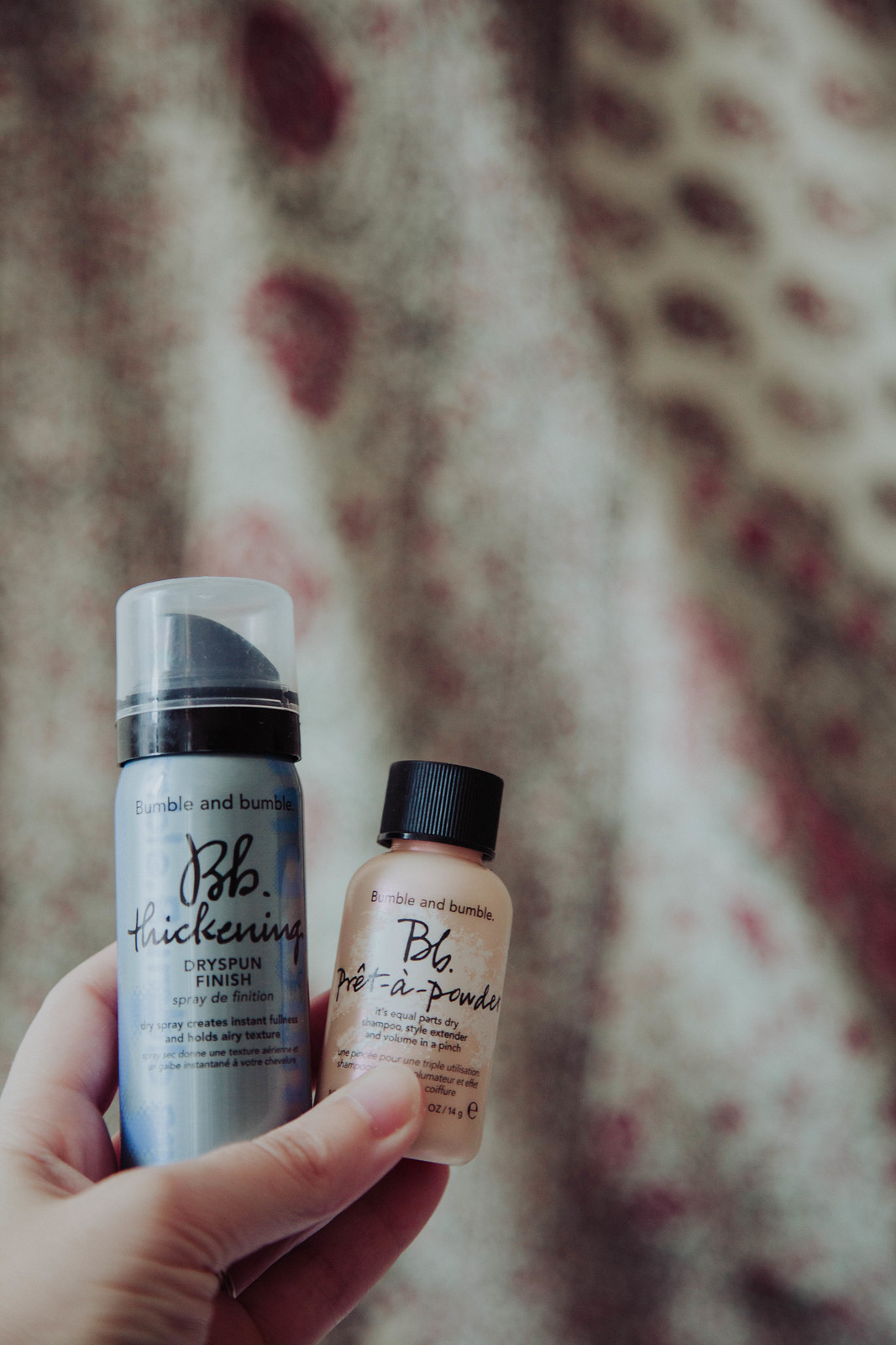 Travel Checklist Hair Products