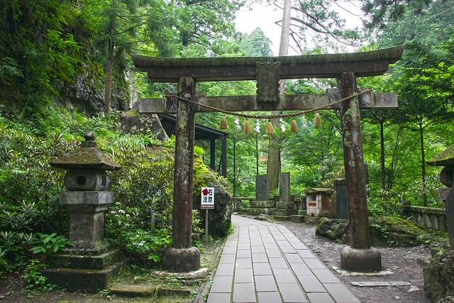 Haruna Jinja Shrine, middle torii (Gunma, Japan)