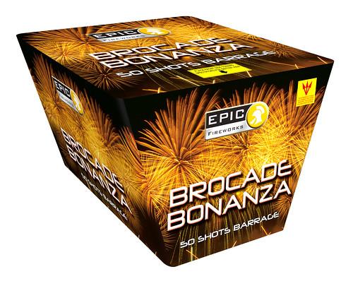 Brocade Bonanza 50 Shot Fan Cake #EpicFireworks