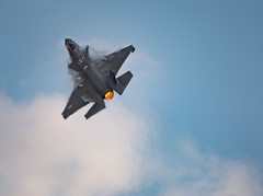 F-35A - Heat Haze and Condensation