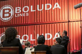 TEMUDAS 2018. CONCIERTO OFGC LA MAGIA DEL VALS EN TERMINAL DE CONTENEDORES