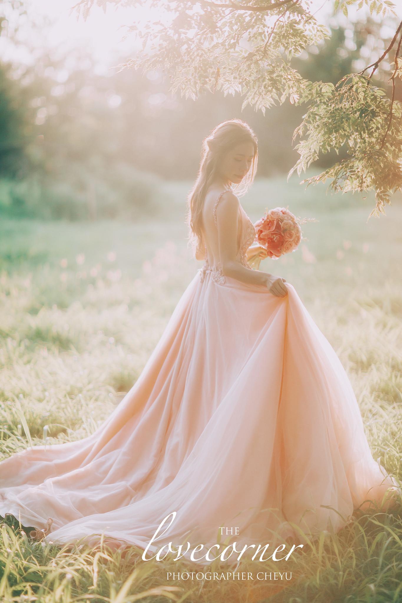 台南婚紗 - 逆光夕陽!加上森林系唯美仙仙風!WD