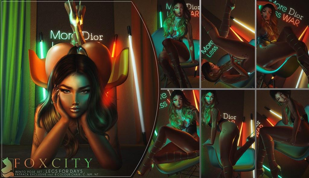 FOXCITY. Legs for Days @ Vanity