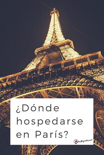¿Dónde hospedarse en París?