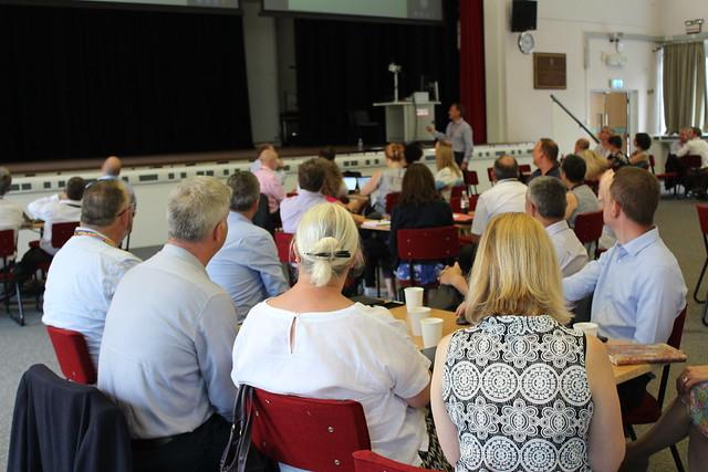 Leading at Salford July 2018