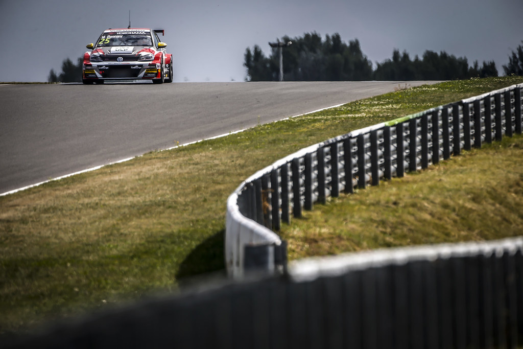 25 BENNANI Mehdi (mar), Volkswagen Golf GTI TCR team Sebastien Loeb Racing, action during the 2018 FIA WTCR World Touring Car cup race of Slovakia at Slovakia Ring, from july 13 to 15 - Photo François Flamand / DPPI.