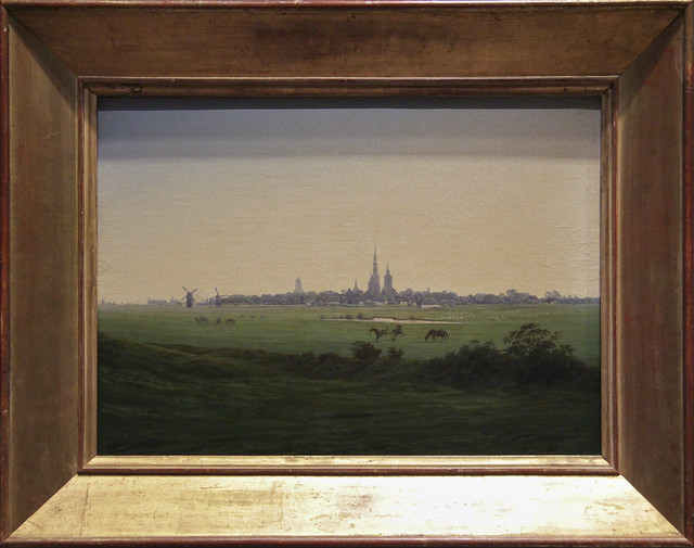 Meadows near Greifswald, Casper David Friedrich, c.1821-2