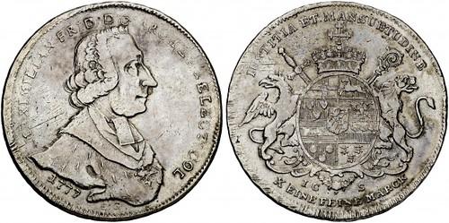 1777 Maximilian Friedrich von Königsegg taler