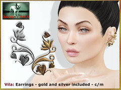Bliensen - Vila - Earrings