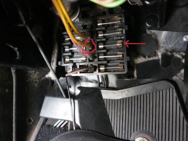 how to trace a circuit (burned fuse)   chevy nova forum  steve's nova site