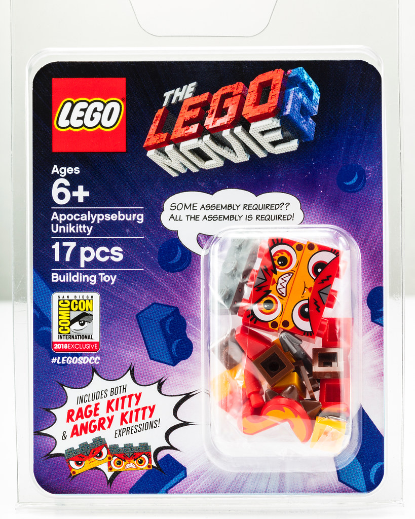 LEGO SDCC 2018 Exclusive Apocalypseburg Unikitty is SO ANGRY!!