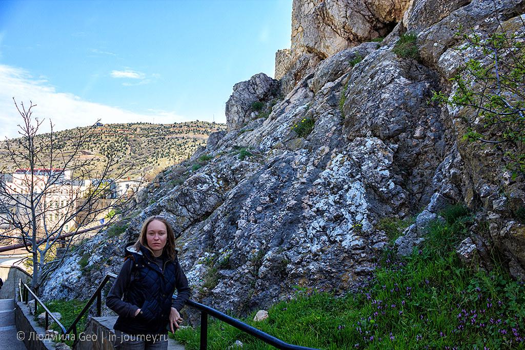 у балаклавских скал