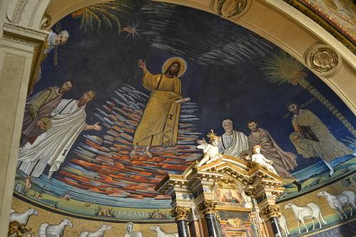 Mosaico San Cosma e San Damiano (Roma)