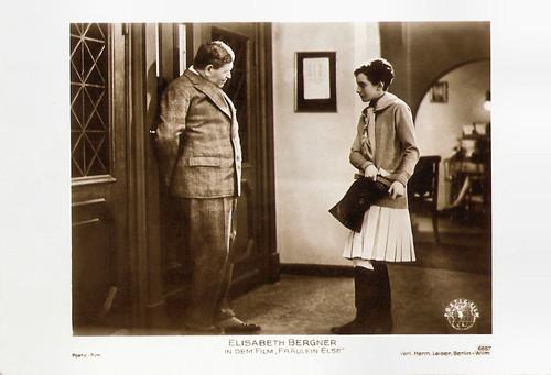 Albert Steinrück and Elisabeth Bergner in Fräulein Else (1929)