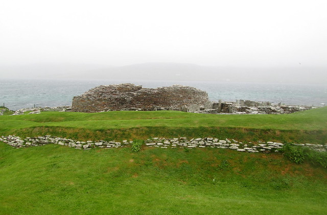 Broch of Gurness, Eynhallow Sound