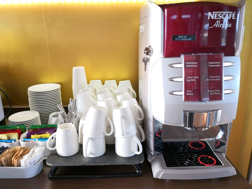 Nescafe machine