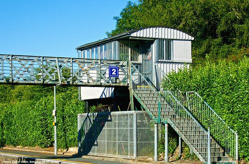 Signal cabin at Gorey.