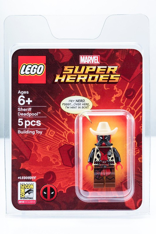 LEGO Marvel Super Heroes Sheriff Deadpool
