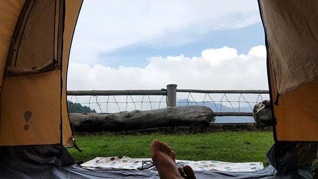 20180715 162露看不到雲海的命運 #歐北露 #campinglife #ilovecamping #eureka #想看雲海千萬別揪我 #乾燥撤收