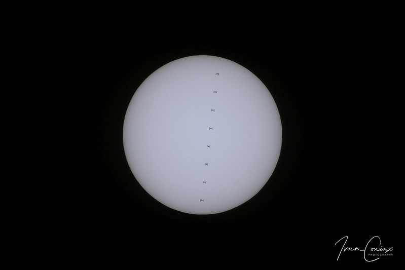 ISS Solar Transit – Zemst – 2018 07 01 – 01 – Copyright © 2018 Ivan Coninx