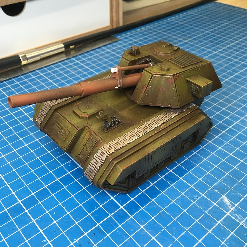 Lasercut basilisk tank green-10