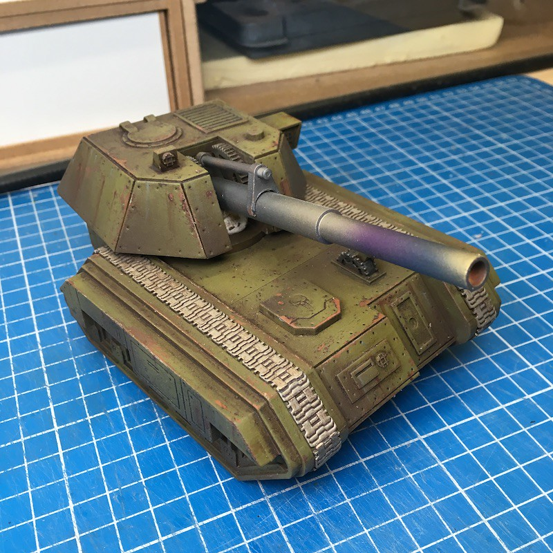 Lasercut basilisk tank green-22