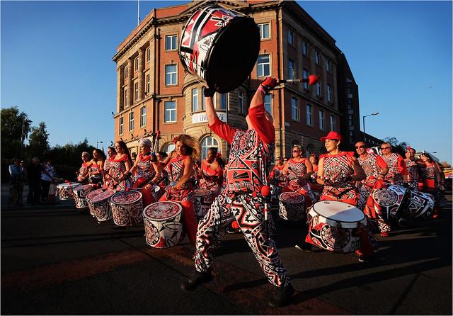 Batala Samba Band Liverpool, Fujifilm X-E2, XF10-24mmF4 R OIS