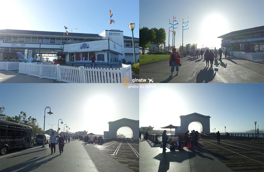【2020舊金山景點】漁人碼頭|加州落日遊船之旅|Red & White Fleet 看夕陽去(附船艙飲料及餐點)城市公園,市區景超推! @GINA環球旅行生活|不會韓文也可以去韓國 🇹🇼