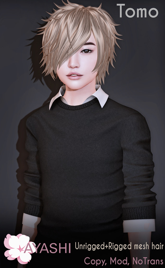 [^.^Ayashi^.^] Tomo hair again available at mainstore - TeleportHub.com Live!
