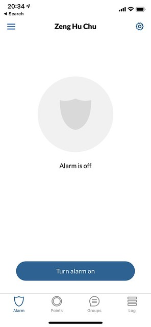 Point iOS App - Alarm
