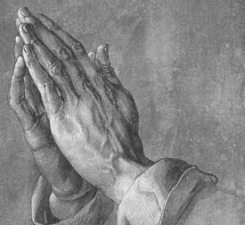 뒤러, 기도하는 손 모델은 누구였을까?