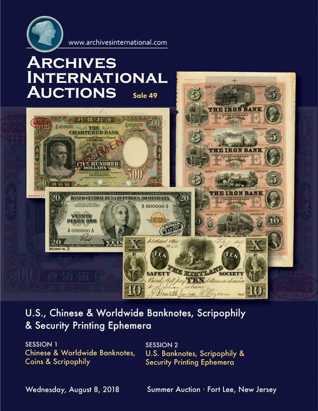 Archives International Sale 49 cover front
