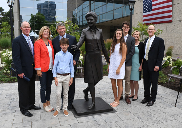 Betty Ford Statue Unveiling at Museum
