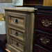 Mexican pine 3 drawer locker E40