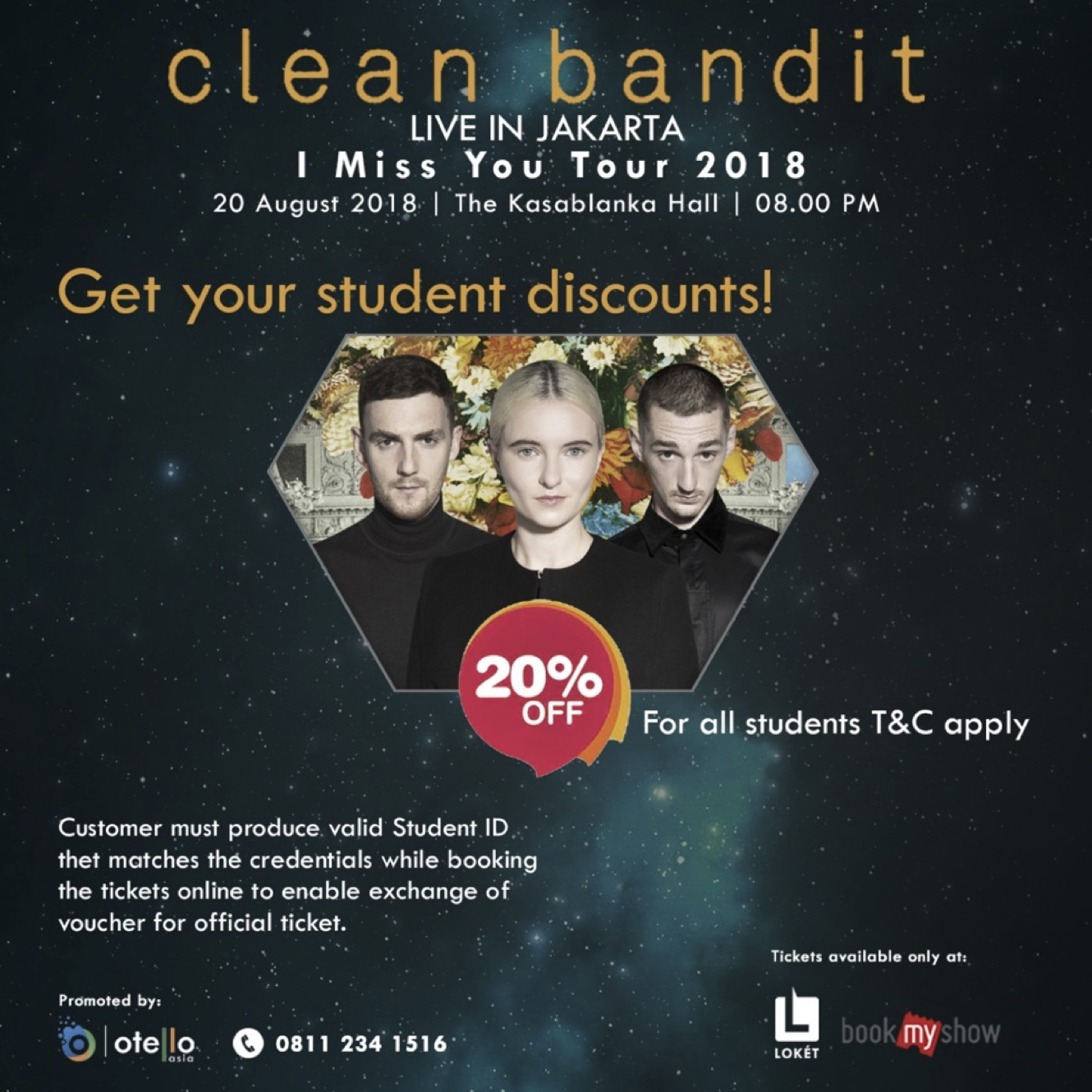 Lay Down Your Books, You're Going To See Clean Bandit